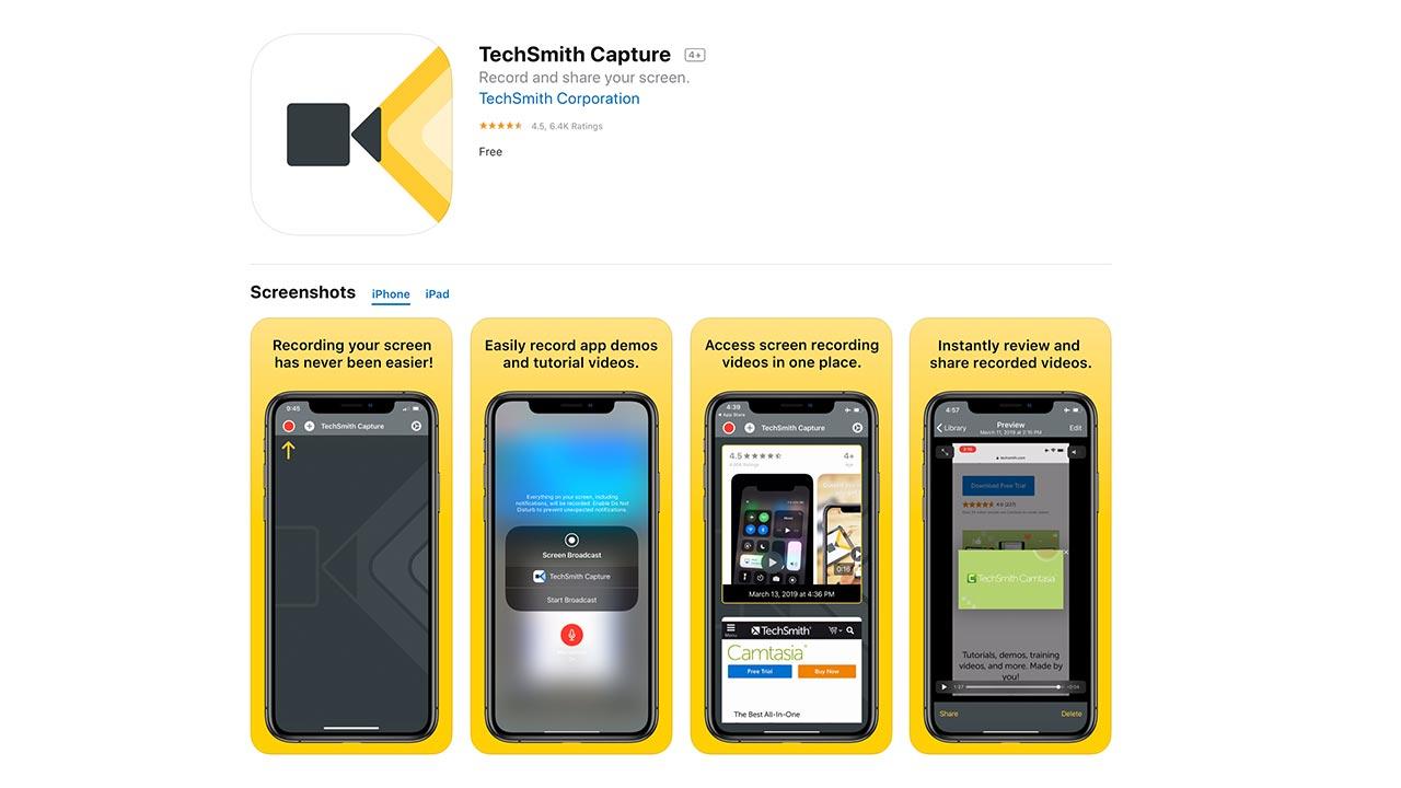 Techsmith Apps